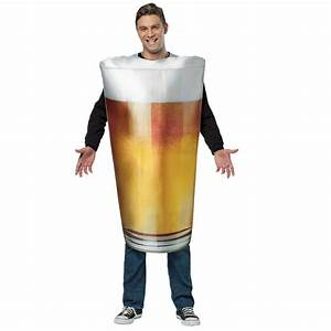 Pint Of Beer Funny Fancy Dress Up Alcohol Halloween Theme