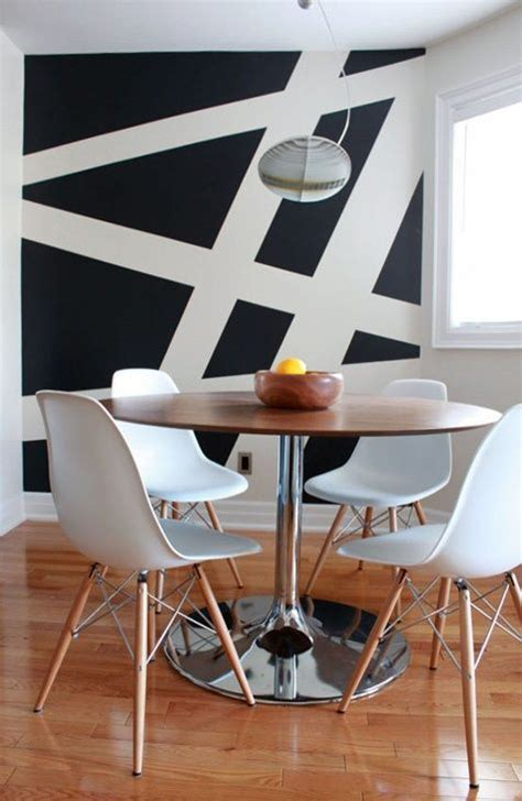 dining room accent wall ideas  color combination founterior
