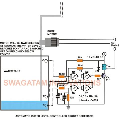 How Build Electronic Water Level Controller