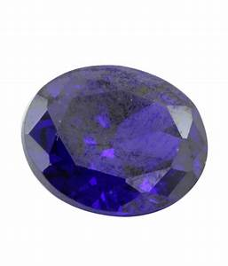 Get Zircon Gemstones that are of Purple Color & Oval Shape
