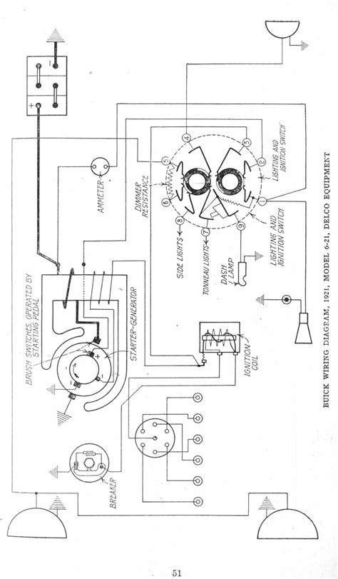 1921 motor vehicles 6 21 deco principle wiring diagram