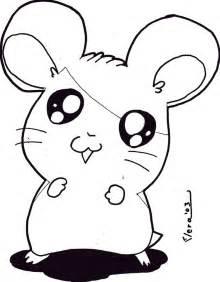 Robo Dwarf Hamster Drawing