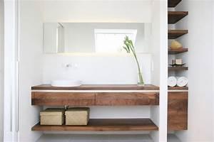 Badezimmer Waschtisch Holz : badezimmer modern holz ~ Frokenaadalensverden.com Haus und Dekorationen