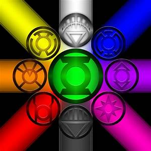 Lantern Corps Color Spectrum Circle | Flickr - Photo Sharing!