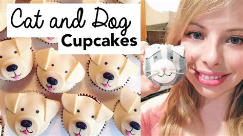 How To Decorate Cat And Dog Cupcakes!