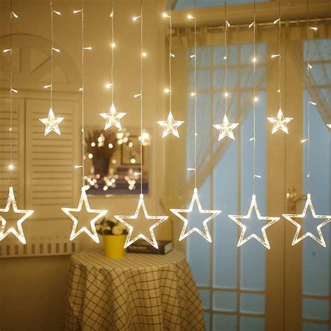 yiyang star led light string living room bedroom valentine