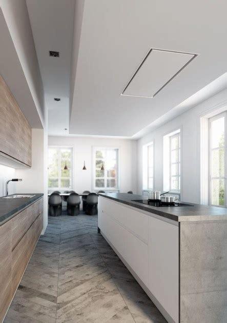 hotte de plafond encastrable en acier inoxydable 6834