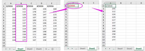 how to copy column based on cell value to another sheet
