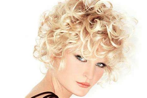 25 Short Hairstyles For Curly Hair 2015