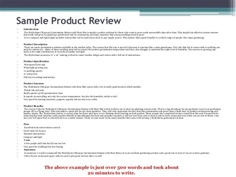 product review template how to earn money writing reviews quickly