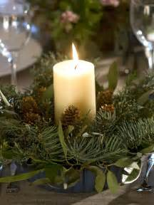 evergreen table centerpiece hgtv