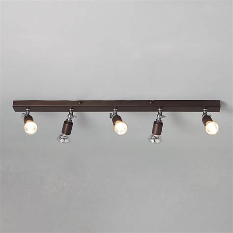 churchill 5 spotlight ceiling bar modern track