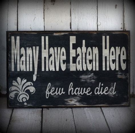 painted  distressed wood sign rustic home decor