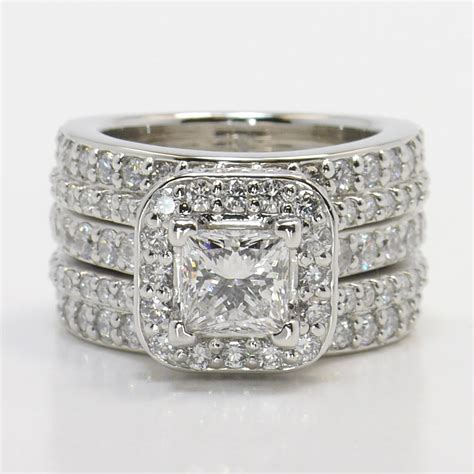 one of kind engagement ring with wrap