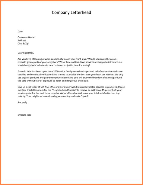 company introduction letter 5 company introduction letter to new customer company 20926