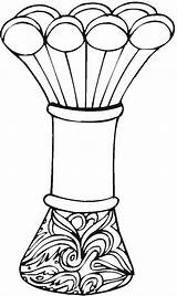 Coloring Vase Vases Adult Printable Pottery Coloringpages Vase2 Colorpagesformom sketch template