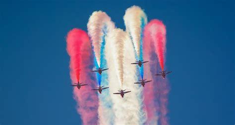 Red Arrows Colour Abu Dhabi Skies