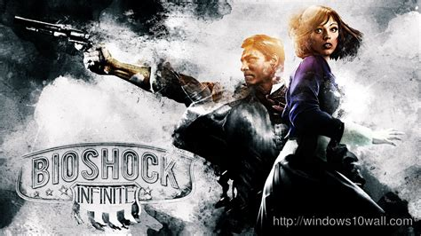bioshock infinite elizabeth   starry sky hd desktop