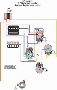 Hermetico Guitar  Wiring Diagram  Lp - 1 Prail