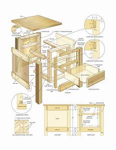 Wood Woodworking Plans End Tables PDF Plans