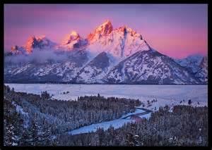 Grand Tetons Wyoming Winter
