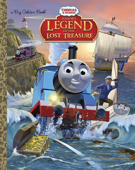 sodors legend   lost treasure book thomas