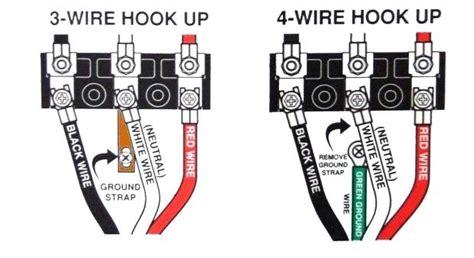 Breaker 3 Wire Dryer Hook Up Diagram by 3 Wire Cords On Modern 4 Wire Appliances Jade Learning