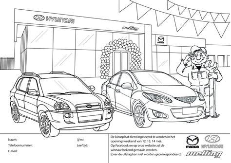 renault rally kleurplaat openingsweekend welling autobedrijven