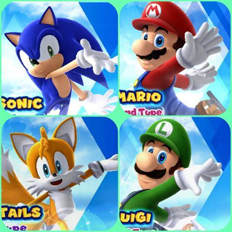 Mario And Sonic Collage By Yoshiyoshi700 On Deviantart