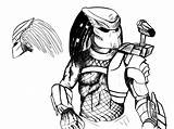 Predator Coloring Pages Alien Drawing Vs Terminator Colouring Xenomorph Sheets Drawings Printable Queen Draw Getdrawings Boys Paint Coloured Uteer Template sketch template