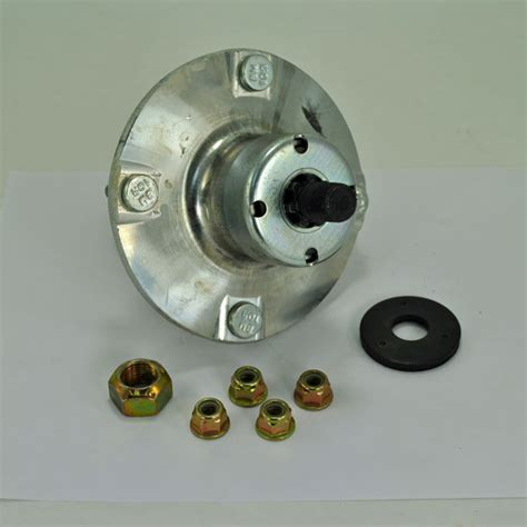 john deere mower deck blade spindle hub assembly am143469