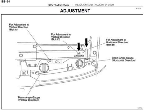 fj   headlight adjustment ihmud forum