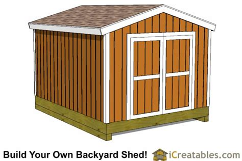 cheap shed kits 10 x 12 10x12 shed plans building your own storage shed