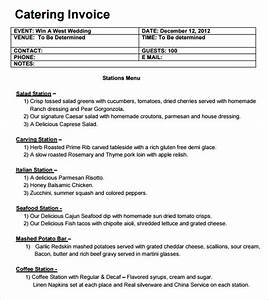 download catering invoice template pdf rabitahnet With catering invoice template pdf