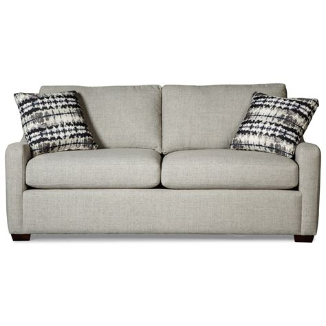 Casual Small Scale Sleeper Sofa By Craftmaster Wolf And