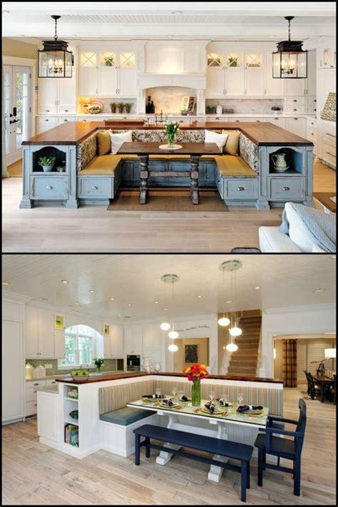 kitchen island  built  seating inspiration kitchen