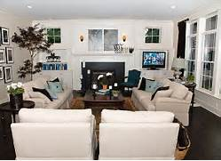 Family Room Decorating Ideas With Nice White Sofa Beside Small Wooden Wood Flooring Mahogany Tree Pictures Acrylic And Wood Furniture Take A Area The White Bookcase And The Mantle Create A Nice Balanced Look Jetson Green Not So Big Timber Frame Home In Oregon