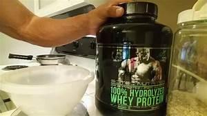 How I Enjoy My Pro Line Series 100  Hydrolyzed Whey Protein By Scitec Nutrition