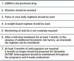 deep vein thrombosis risk factors