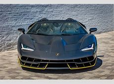 World's First Lamborghini Centenario Roadster Delivered in