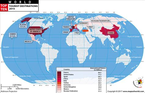 tourist destinations in the world top ten