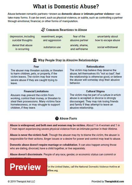 domestic violence worksheets  children worksheets master