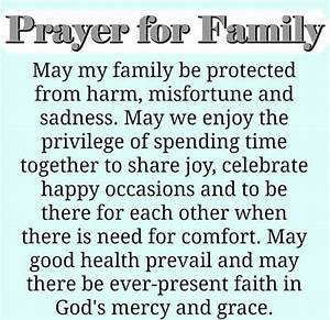 17 best ideas about Prayer For My Family on Pinterest ...