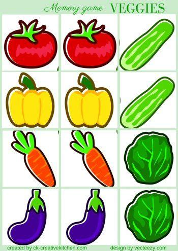 grocery memory game  printables preschool
