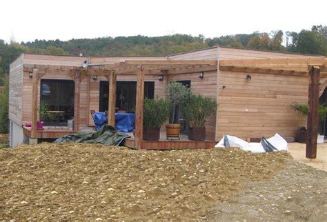 maison ossature bois dordogne maison bois r 233 f 10041 pr 232 s de p 233 rigueux en dordogne 24 cogebois