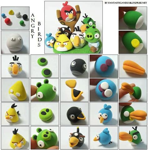 pate a modeler angry birds tuto angry birds pate 224 sucre modelage p 226 te 224 sucre tutorials