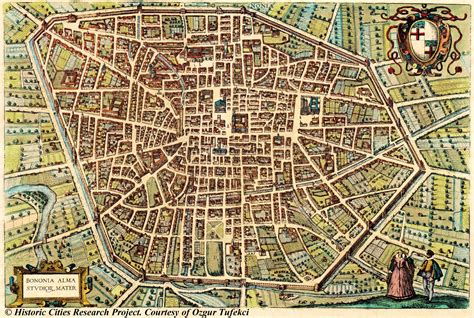 amazing maps  medieval cities earthly mission