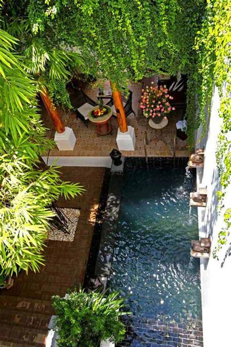 garden ideas for small backyards 28 fabulous small backyard designs with swimming pool