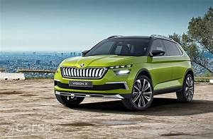 Skoda Vision X : skoda vision x compact suv will arrive in production guise at geneva 2019 cars uk ~ Medecine-chirurgie-esthetiques.com Avis de Voitures