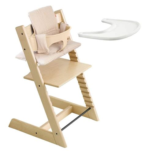 chaise tripp trapp stokke kit complet stokke tripp trapp naturel chaise haute et